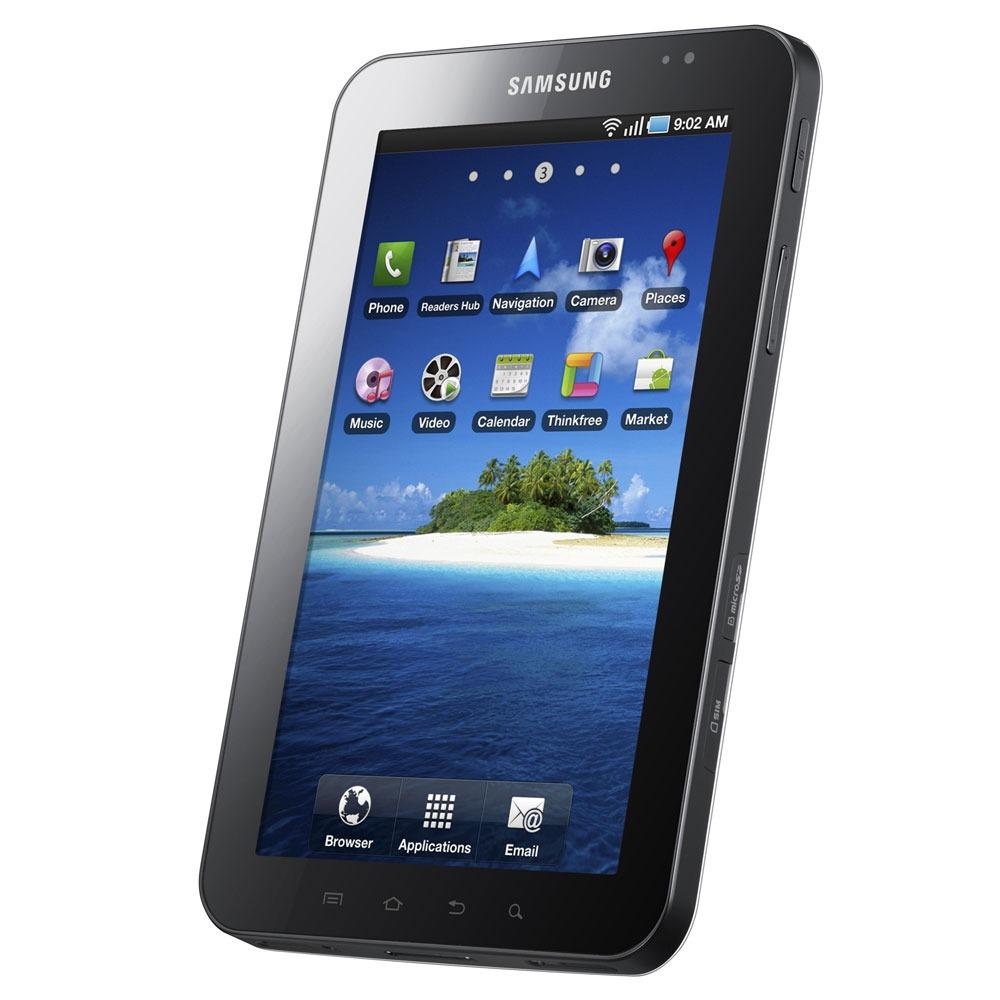 """Mobile & smartphone Samsung Galaxy Tab GT-P1010 Tablette avec écran tactile 7"""" sous Android (version sans 3G)"""