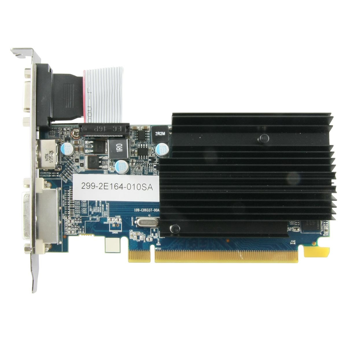 Carte graphique Sapphire Radeon HD 6450 1 GB DDR3 Sapphire Radeon HD 6450 1 Go - 1 Go HDMI/DVI - PCI Express (AMD Radeon HD 6450)