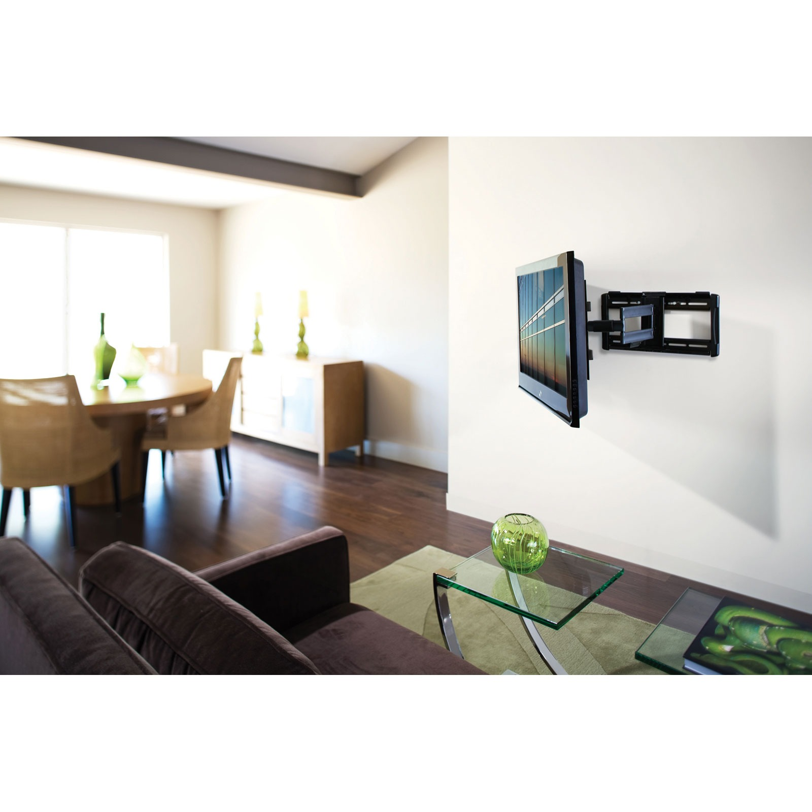 ergotron neo flex cantilever uhd support mural tv. Black Bedroom Furniture Sets. Home Design Ideas
