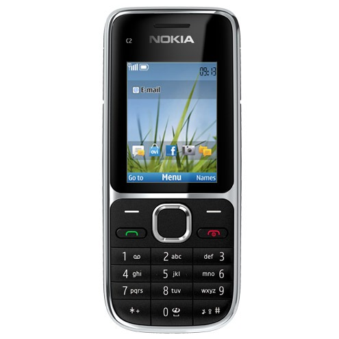Mobile & smartphone Nokia C2-01 Noir Téléphone portable 3G