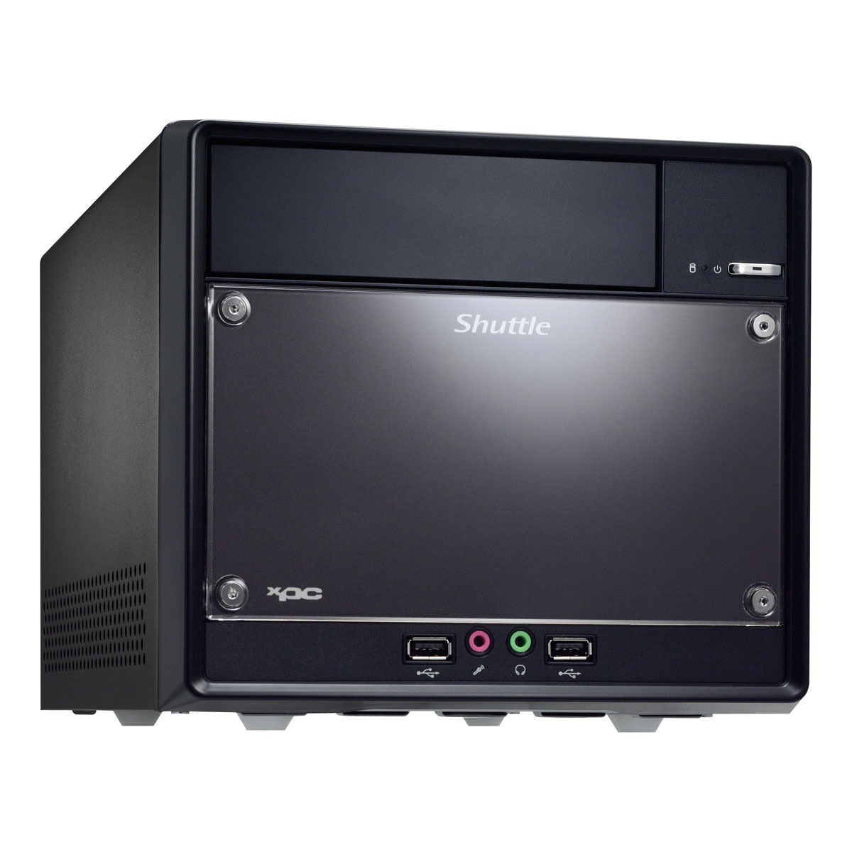 Barebone PC Shuttle SG41J4 Mini-Barebone (Intel G41 Express) Shuttle SG41J4 - Mini-Barebone (Intel G41 Express) - (coloris Noir)