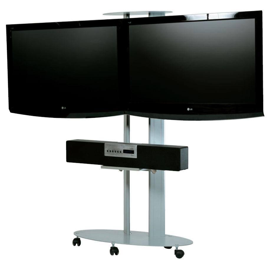 erard 211542 argent support mural tv erard pro sur. Black Bedroom Furniture Sets. Home Design Ideas