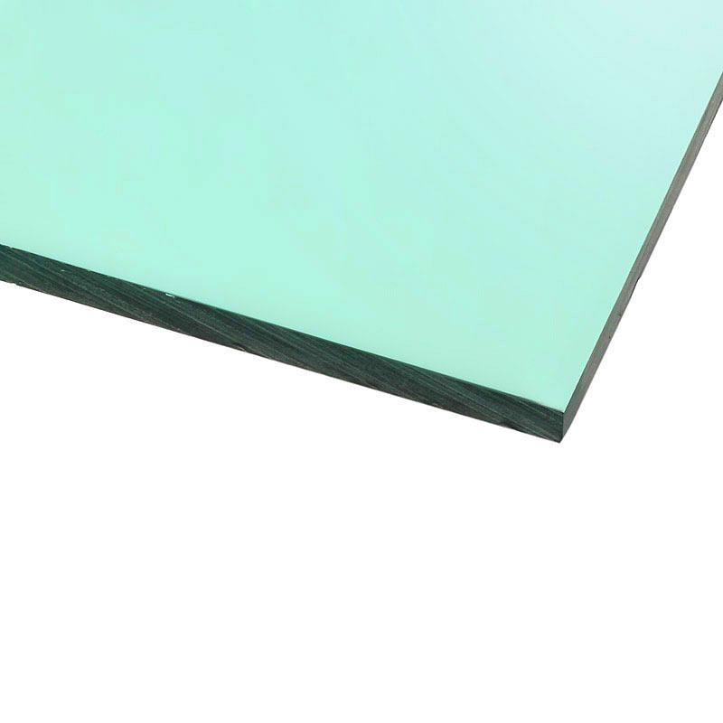 Panneau plexiglas transparent vert 500 x 500 mm for Fenetre plexiglass