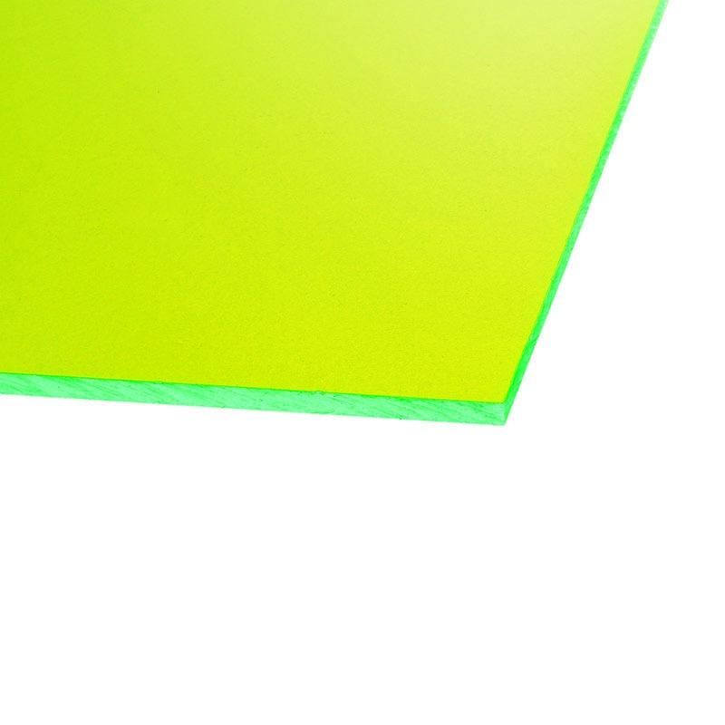 Panneau plexiglas transparent r actif aux uv vert 500 x for Fenetre plexiglass