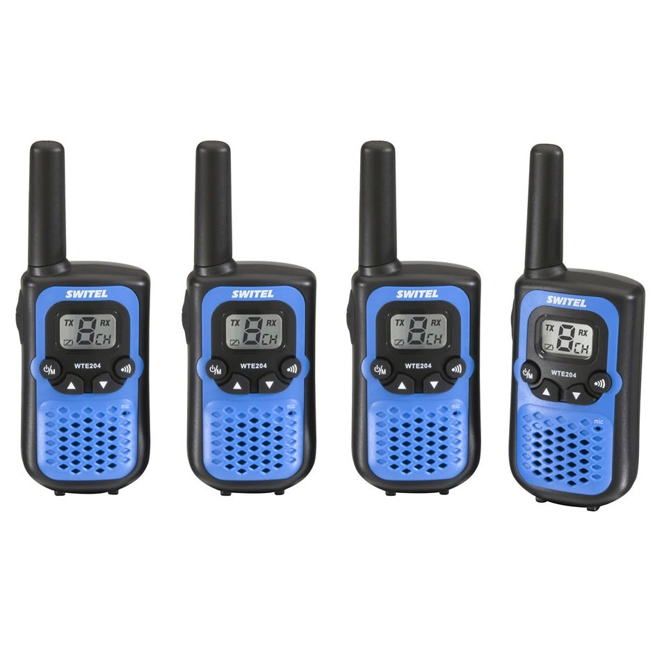 Switel wte 204 talkie walkie switel sur - Talkie walkie professionnel longue portee ...