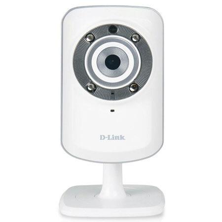 Caméra IP D-Link DCS-932L Caméra réseau cloud (Ethernet, Wi-Fi b/g/n) LED infrarouges
