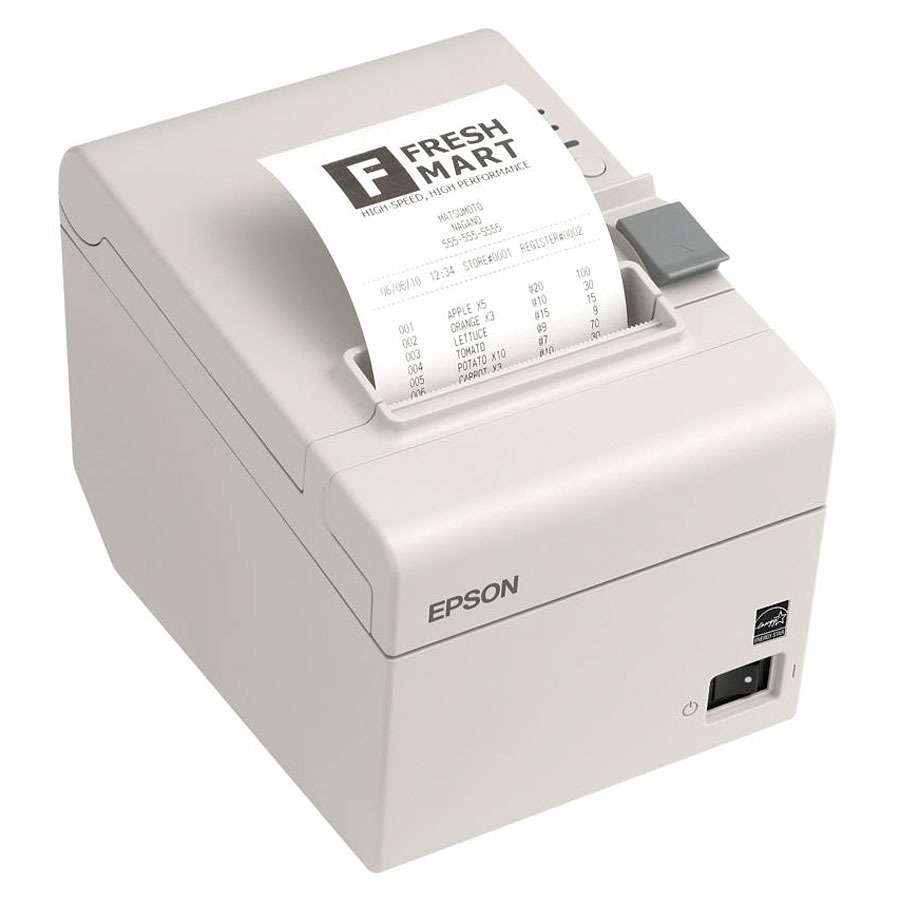 epson tm t20 blanc ethernet imprimante thermique epson. Black Bedroom Furniture Sets. Home Design Ideas