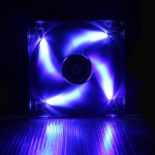 Ventilateur boîtier BitFenix Spectre LED Bleu 120 mm BitFenix Spectre LED 120 mm Bleu - Ventilateur LED 120 mm
