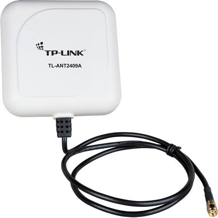 Accessoires WiFi TP-LINK TL-ANT2409A Antenne directionnelle 9 dBi pour réseaux 2,4 GHz