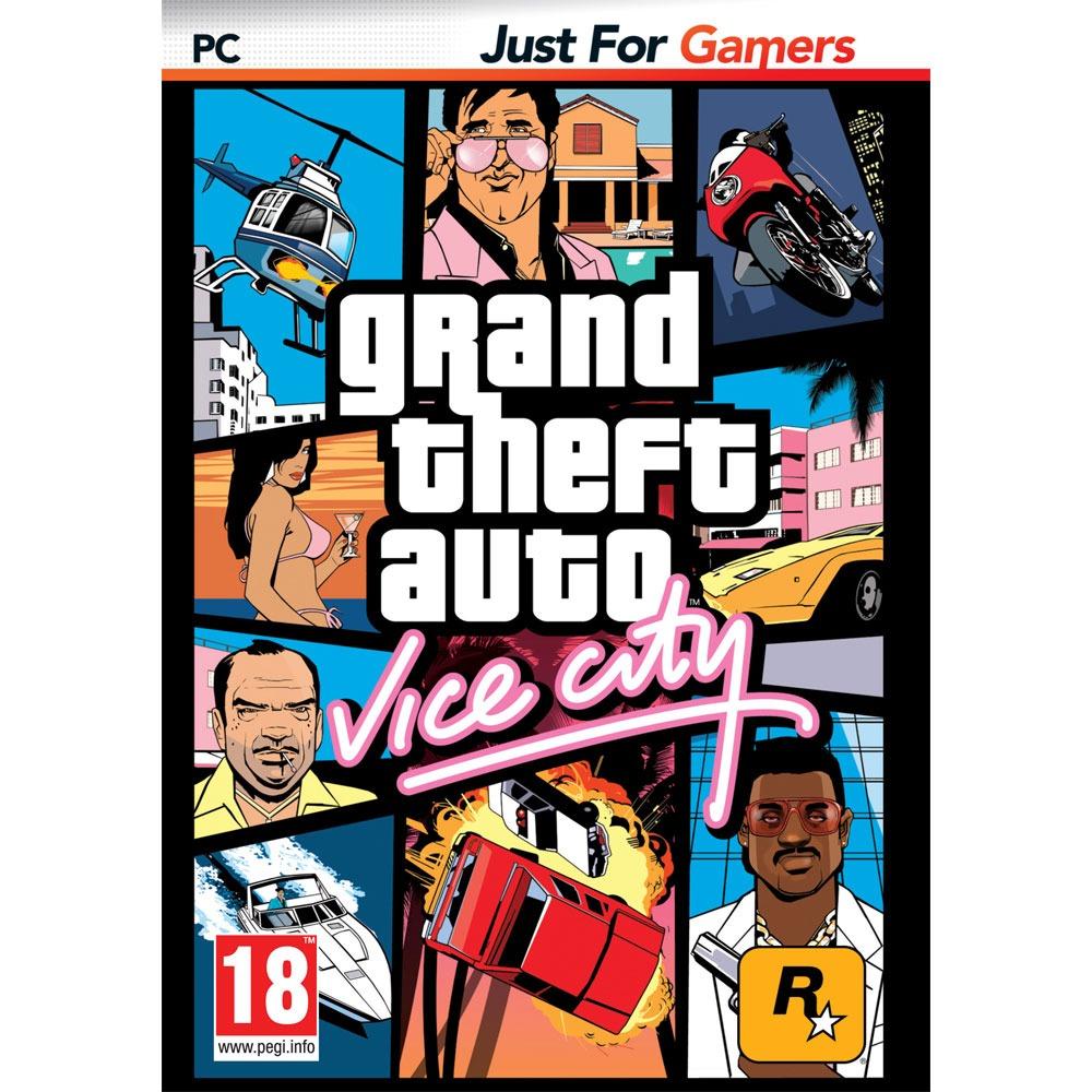 Jeux PC GTA - Grand Theft Auto : Vice City (PC) GTA - Grand Theft Auto : Vice City (PC)