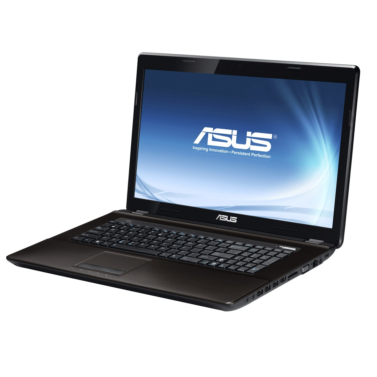 "PC portable ASUS K73E-TY304V Intel Pentium B960 4 Go 320 Go 17.3"" LED Intel HD Graphics Graveur DVD Wi-Fi N Webcam Windows 7 Premium 64 bits (garantie constructeur 2 ans)"