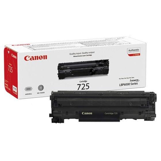 Toner imprimante Canon 725 Canon 725 - Toner Noir (pour série i-SENSYS LBP-6000)