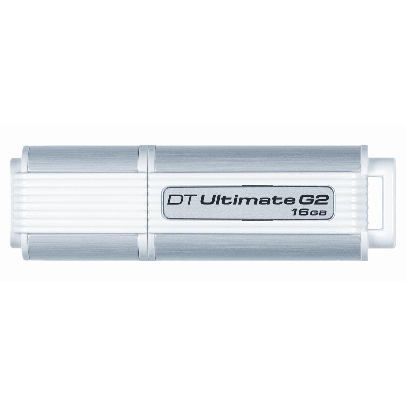 Clé USB Kingston DataTraveler Ultimate 3.0 G2 16 Go Kingston DataTraveler Ultimate 3.0 G2 16 Go - USB 3.0 (garantie constructeur 5 ans)