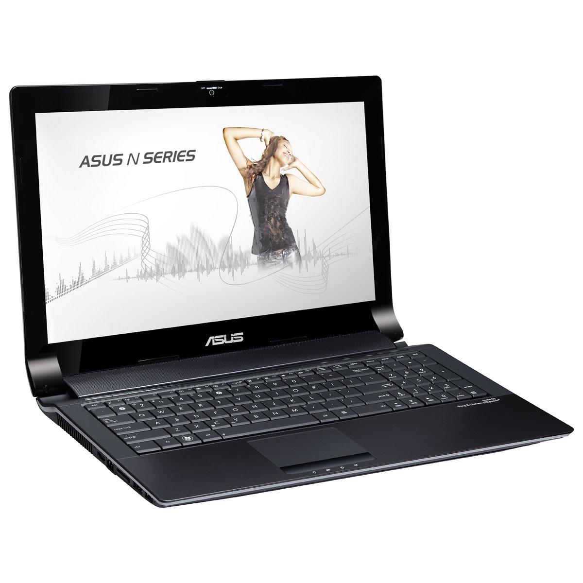 """PC portable ASUS N53SN-SZ240V Intel Core i7-2630QM 4 Go 750 Go 15.6"""" LED NVIDIA GeForce GT 550M Combo Lecteur Blu-ray/Graveur DVD Wi-Fi N/Bluetooth Webcam Windows 7 Premium 64 bits (garantie constructeur 2 ans)"""
