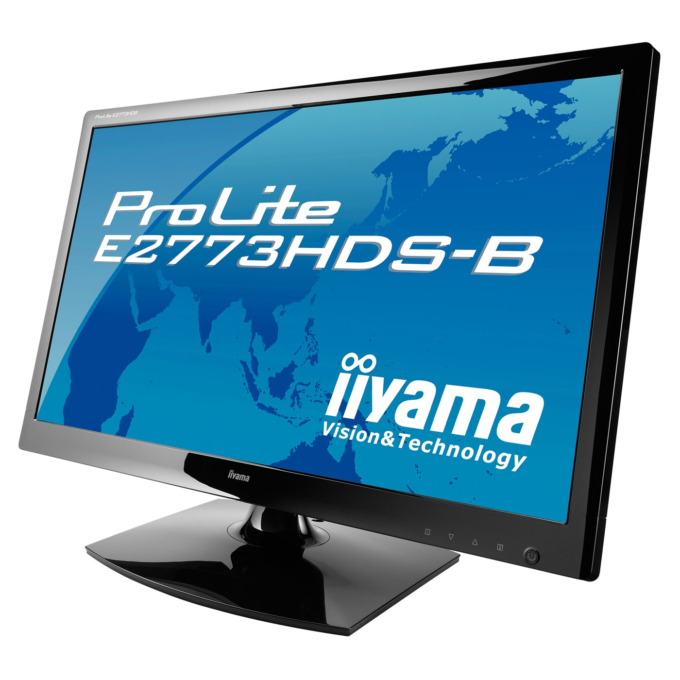 iiyama 27 led prolite e2773hds 1 ecran pc iiyama sur. Black Bedroom Furniture Sets. Home Design Ideas