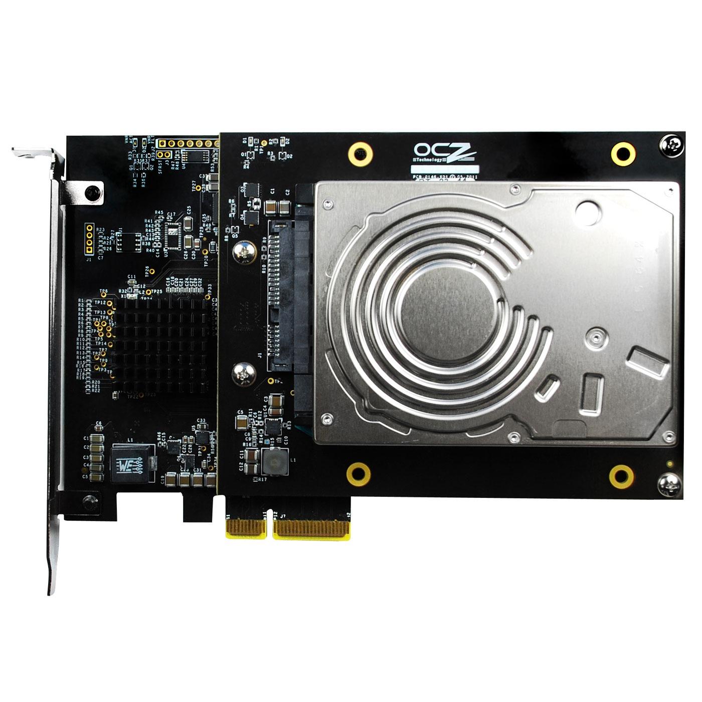 Disque SSD OCZ RevoDrive Hybrid 1 To SSD 100 Go + HDD 1 To VCA 2.0 PCI Express