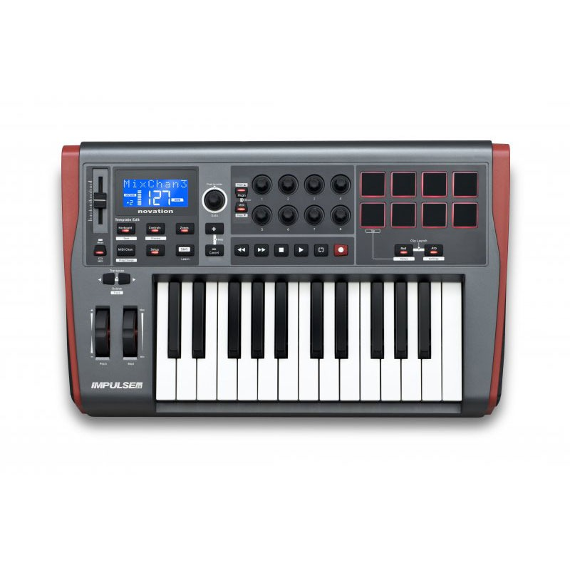 Novation Impulse  Home Studio