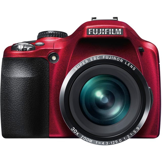 Fujifilm finepix sl300 rouge appareil photo num rique for Prix fujifilm finepix s1600