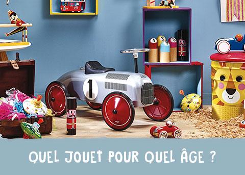 Quel jouet pour quel âge ?
