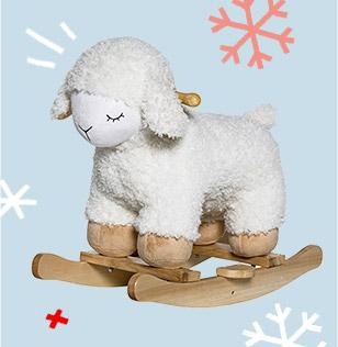 Bloomingville Mouton à Bascule