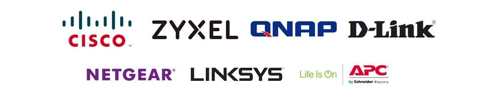 Cisco - Zyxel - Qnap - D-link - Netgear - Linksys - APC