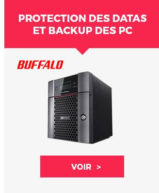 Protection des datas et backup des PC et Mac Buffalo - Voir ›