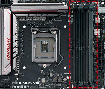 Slot mémoire DIMM et la RAM