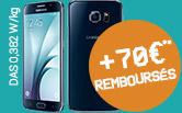 Smartphone Samsung - 70€** remboursés