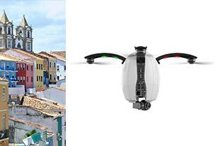 Parrot Bebop Drone 2 Blanc + Pack FPV
