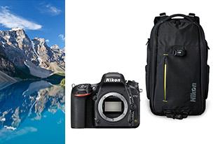 Nikon D750 (boîtier nu) + Sac à dos EU-12