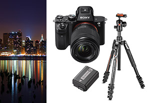 Sony Alpha 7 II + 28-70 mm + Sony NP-FW50 + Manfrotto Befree