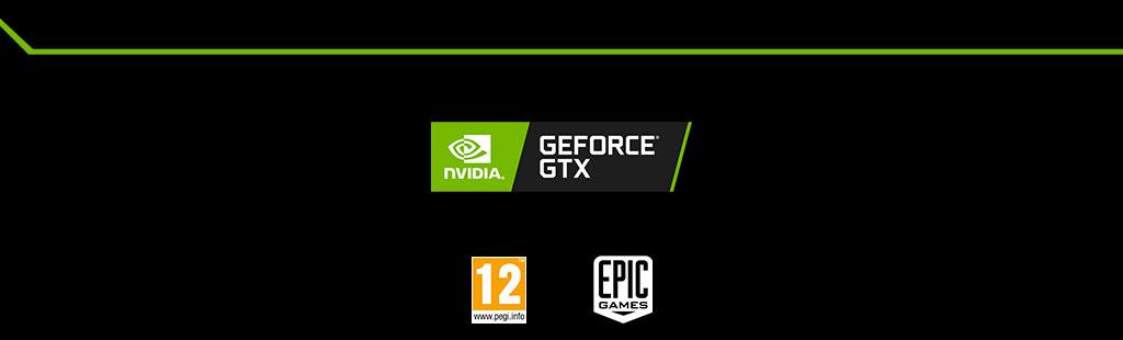 Nvidia Geforce GTX | PEGI 12 | EPIC GAME