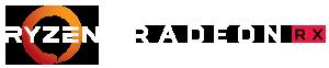 Ryzen and Radeon logos