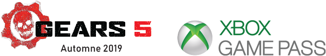 Gears 5 and Xbox Game Pass logo
