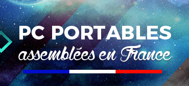 PC portables assemblés en France