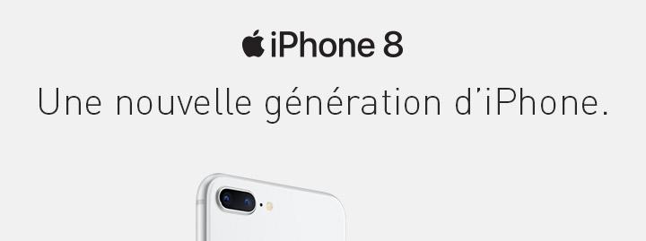 Une nouvelle génération d'iPhone