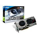 MSI N680GTX Twin Frozr 2GD5/OC GeForce GTX 680 2 Go