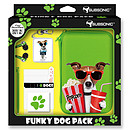 Subsonic Funky Animals Dog Green Pack XL (Nintendo 3DS XL et DSi XL)