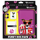 Subsonic Funky Animals Dog Pink Pack XL (Nintendo 3DS XL et DSi XL)