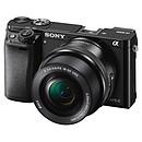 Sony Alpha 6000 + Objectif 16-50 mm Noir
