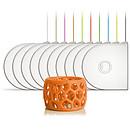 3D Systems 401394-01 - Cartouche PLA Orange fluo pour imprimante 3D
