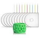 3D Systems 401429-01 - Cartouche PLA Vert phosphorescent pour imprimante 3D