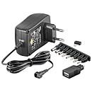 Transformador de alimentación eléctrica de 3 V-12 V y 1,5 A
