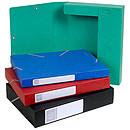 Exacompta boites de classement Cartobox dos 40 mm Assortis x 10