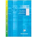 Clairefontaine Copies simples perforées 100 pages 21 x 29.7 cm grands carreaux Seyes