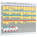 Nobo kit planning annuel 13 colonnes 32 fentes