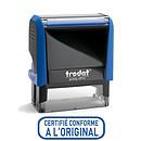 """Trodat Timbre Xprint """"Certifié conforme"""" bleu"""