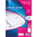 Office Star Etiquettes 70 x 35 mm x 2400