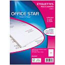 Office Star Etiquetas 48.5 x 25.4 mm x 4000