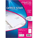 Office Star Etiquettes 105 x 148.5 mm x 400
